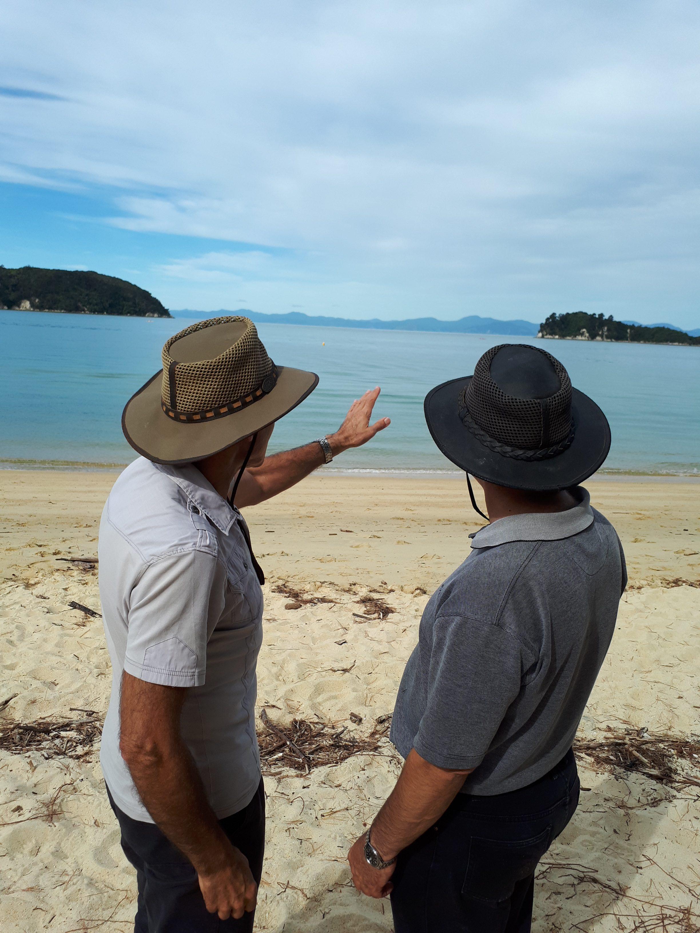 6e3d1c3d008 Khaki Summer - Selke NZ high quality handcrafted leather   fabric hats