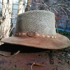 """8a9ffa39075 The Oilskin """"Hat"""" - Selke NZ high quality handcrafted leather ..."""