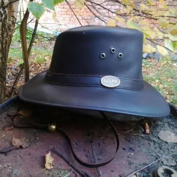 2c22b54f9f4 Full Grain Leather Hat with Band - Selke NZ high quality handcrafted ...