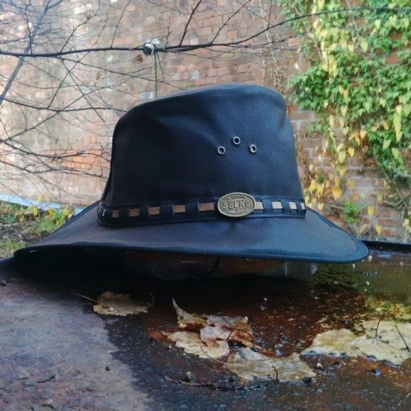 91158fcdca1 The Oilskin Hat With Flyband - Selke NZ high quality handcrafted ...