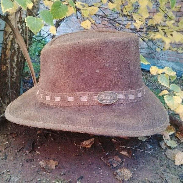3733e16e435 Stressed Brown Leather Hat - Selke NZ high quality handcrafted ...
